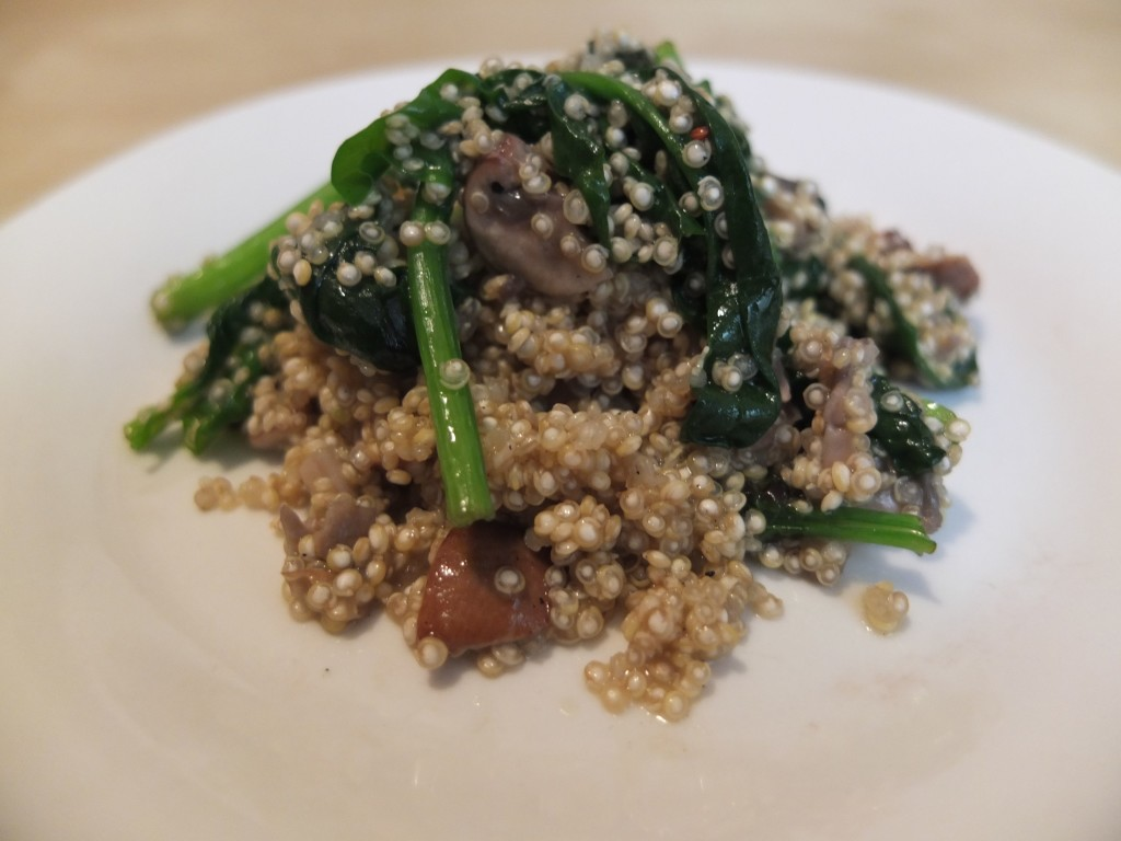 truffle quinoa