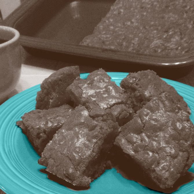 Ooey Gooey Low Fat Vegan Brownies