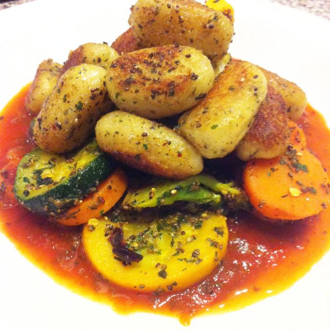 Shehu's Gnocchi + Veggies