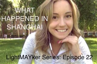 What happened in SHANGHAI