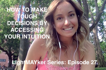 How to make tough decisions (accessing your intuition)
