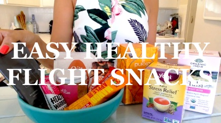 Healthy Flight Snacks